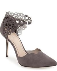 Zapatos de Tacón de Cuero Grises de Klub Nico
