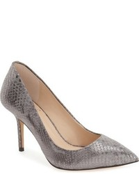 Zapatos de Tacón de Cuero Grises de Vince Camuto