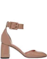 Zapatos de Tacón de Cuero Marrón Claro de RED Valentino