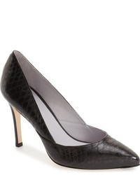 Zapatos de Tacón de Cuero Marrónes de Johnston & Murphy