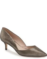 Zapatos de Tacón de Cuero Marrónes de Louise et Cie