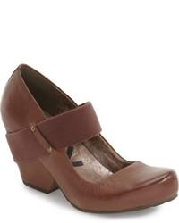 Zapatos de Tacón de Cuero Marrónes de OTBT