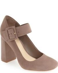 Zapatos de Tacón de Cuero Marrónes de Vince Camuto