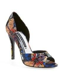 Zapatos de Tacón de Cuero Multicolor de Alice + Olivia