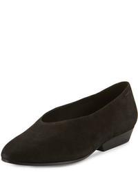 Zapatos de tacón de cuero negros de Eileen Fisher