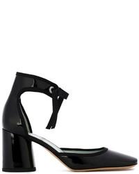 Zapatos de tacón de cuero negros de Marc by Marc Jacobs