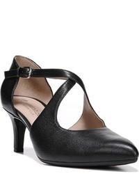 Zapatos de Tacón de Cuero Negros de Naturalizer