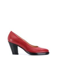 Zapatos de tacón de cuero rojos de A.F.Vandevorst