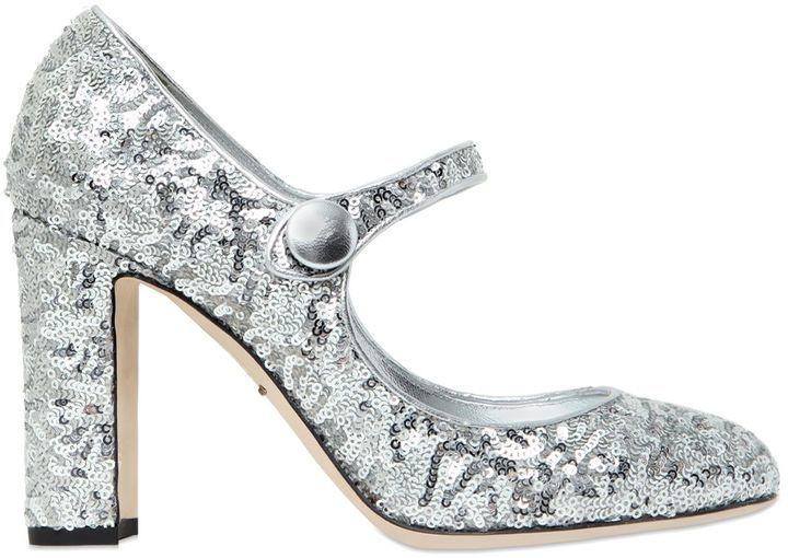 Resultado de imagen de dolce & gabbana zapatos glitter