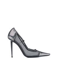 Zapatos de tacón de malla negros de Tom Ford