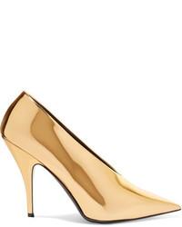 Zapatos de tacón dorados de Stella McCartney