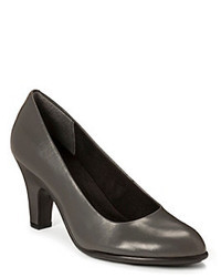 Zapatos de tacón grises
