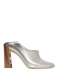Zapatos de tacón plateados de Stella McCartney