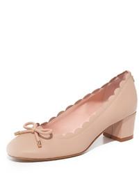 Zapatos de tacón rosados de Kate Spade