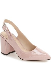 Zapatos de tacón rosados de Topshop