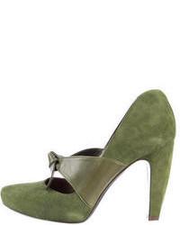 Zapatos verde oliva para mujer YXqPF9Bl3l