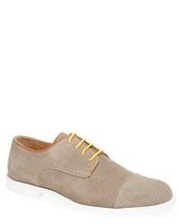 Zapatos derby de ante en beige de Moods of Norway