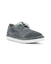 Zapatos derby de ante grises de Marsèll