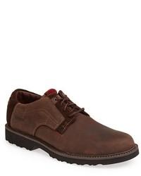 Zapatos Derby de Ante Marrónes de Dunham