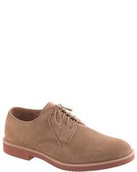 Zapatos derby de ante marrónes de J.Crew