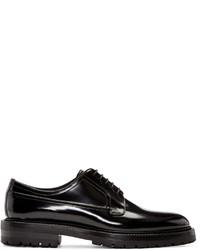 Zapatos Derby de Cuero Negros de Burberry