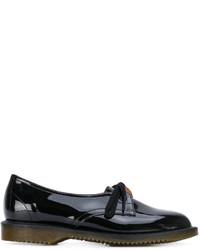 Zapatos derby de cuero negros de Comme des Garcons