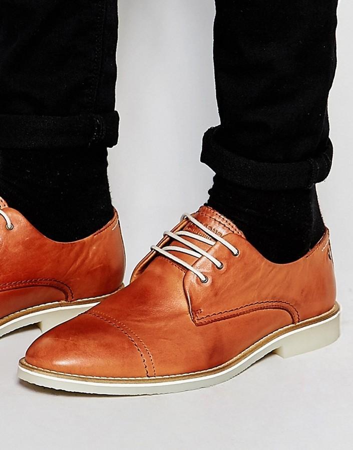 Zapatos Derby de cuero de Jack & Jones vpMo3v7QFP