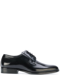 Zapatos derby negros de Saint Laurent