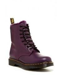 Zapatos morado oscuro