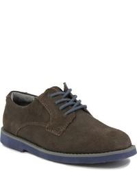 Zapatos oxford de ante en marrón oscuro de Florsheim