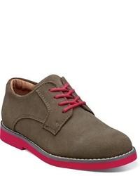 Zapatos oxford de ante marrónes de Florsheim