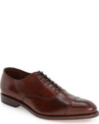 Zapatos oxford de cuero burdeos de Allen Edmonds