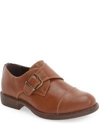 Zapatos oxford de cuero marrónes de Steve Madden