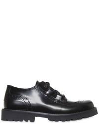 Zapatos oxford de cuero negros de Dolce & Gabbana