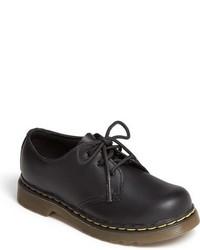 Zapatos oxford de cuero negros de Dr. Martens