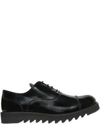 Zapatos oxford de cuero negros de DSQUARED2