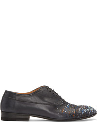Zapatos oxford de cuero negros de Maison Margiela