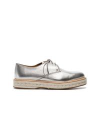 Zapatos Oxford de Cuero Plateados de Church's