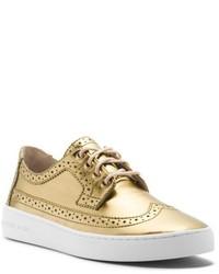 Zapatos oxford dorados